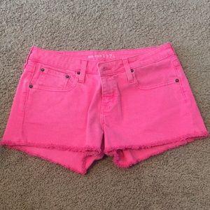 Big star pink shorts